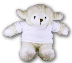 Pecora bianca h 18 cm